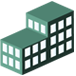 green commercial icon